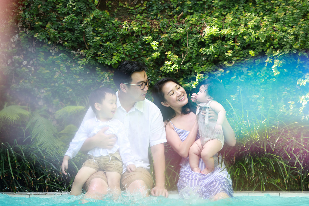 Bubble Bali Family Photography