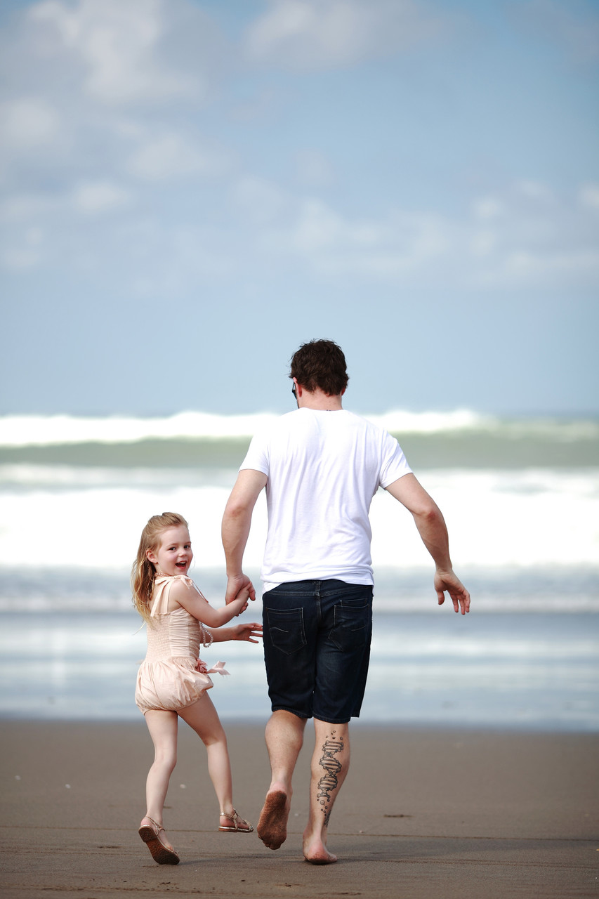 Bali Family Photography Daddy Daughter