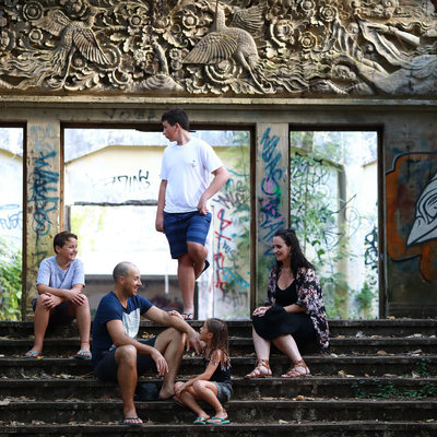 Family Photographer in Sanur