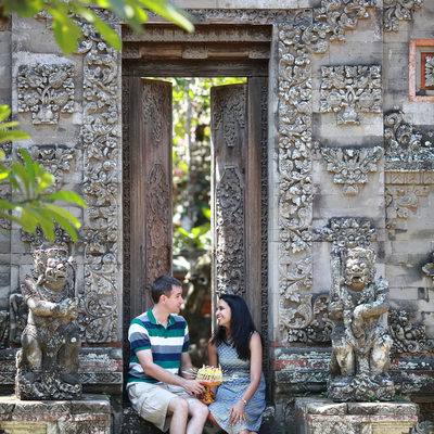 Honeymoon Photography in Bali Museum