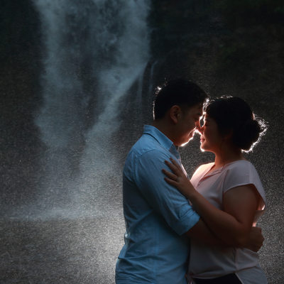 Tegenungan Waterfall Bali Engagement
