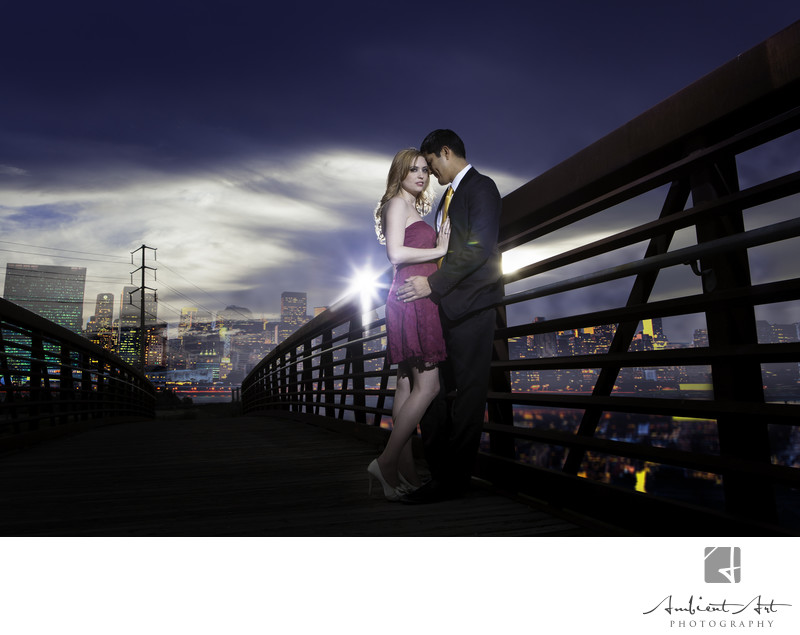 Fresno Engagement Session off Friant Road