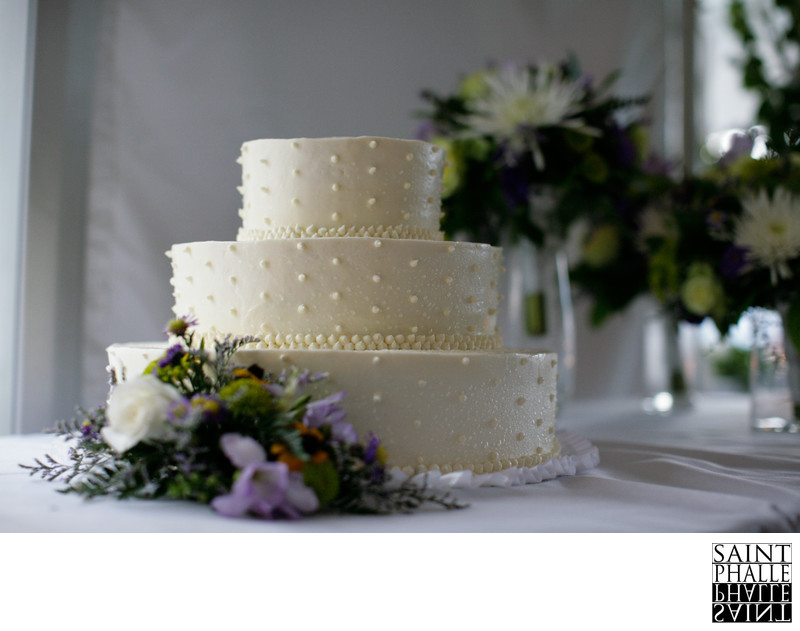 Mountain Top Inn Wedding Cake Reception Beautiful
