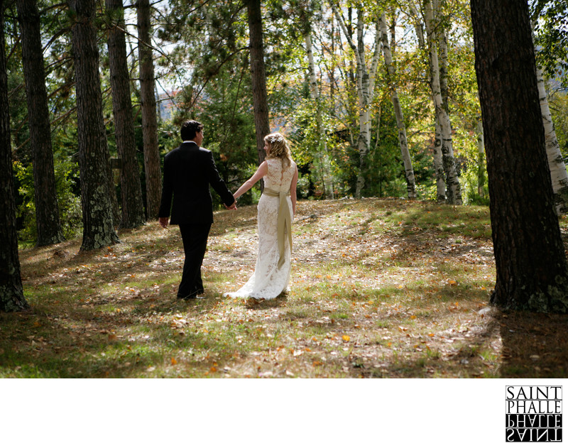 Edson Hill Wedding Stowe Vermont Bride Groom First Look