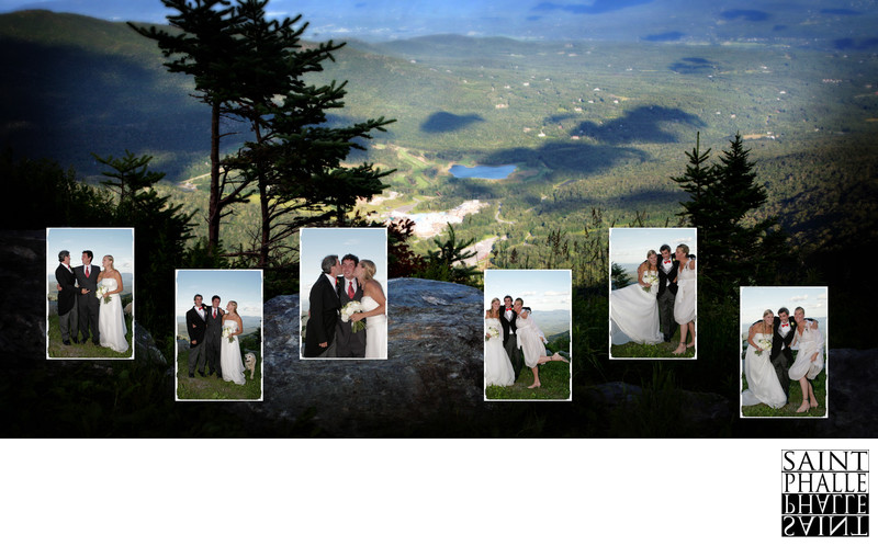 Stowe Mountain Resort Wedding Cliff House Views Formals