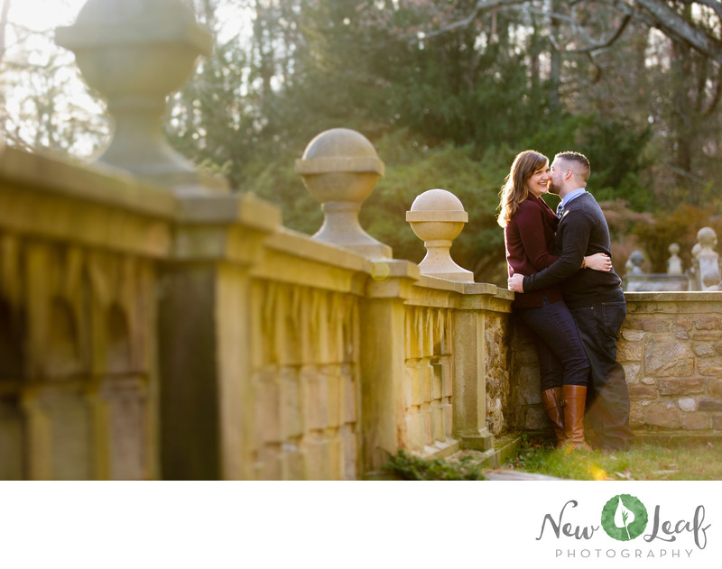Engagement Photos in Ridley Creek State Park