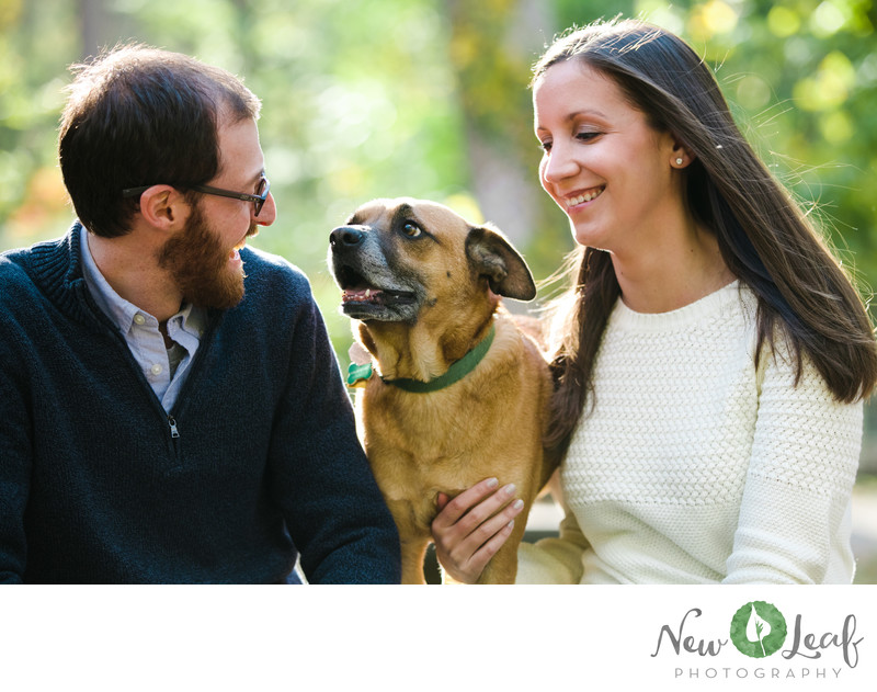 Engagement Session at Wissahickon Park