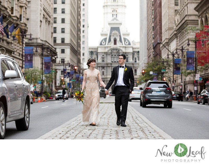 Wedding Photos at Philadelphia City Hall