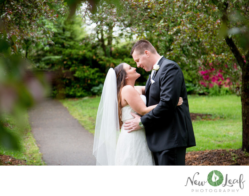 Wedding Photos at Everhart Park in West Chester
