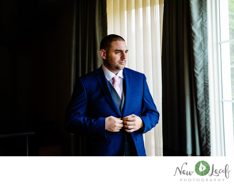 Groom at Stockton Seaview Hotel and Golf Club