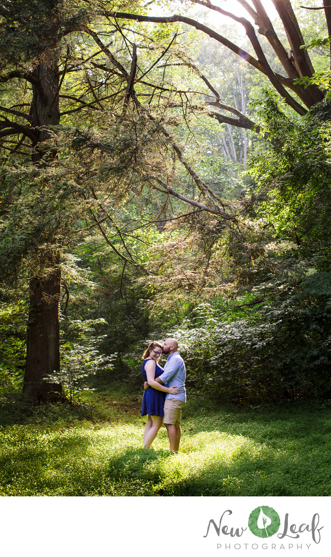 Parque at Ridley Creek Engagement Photographer