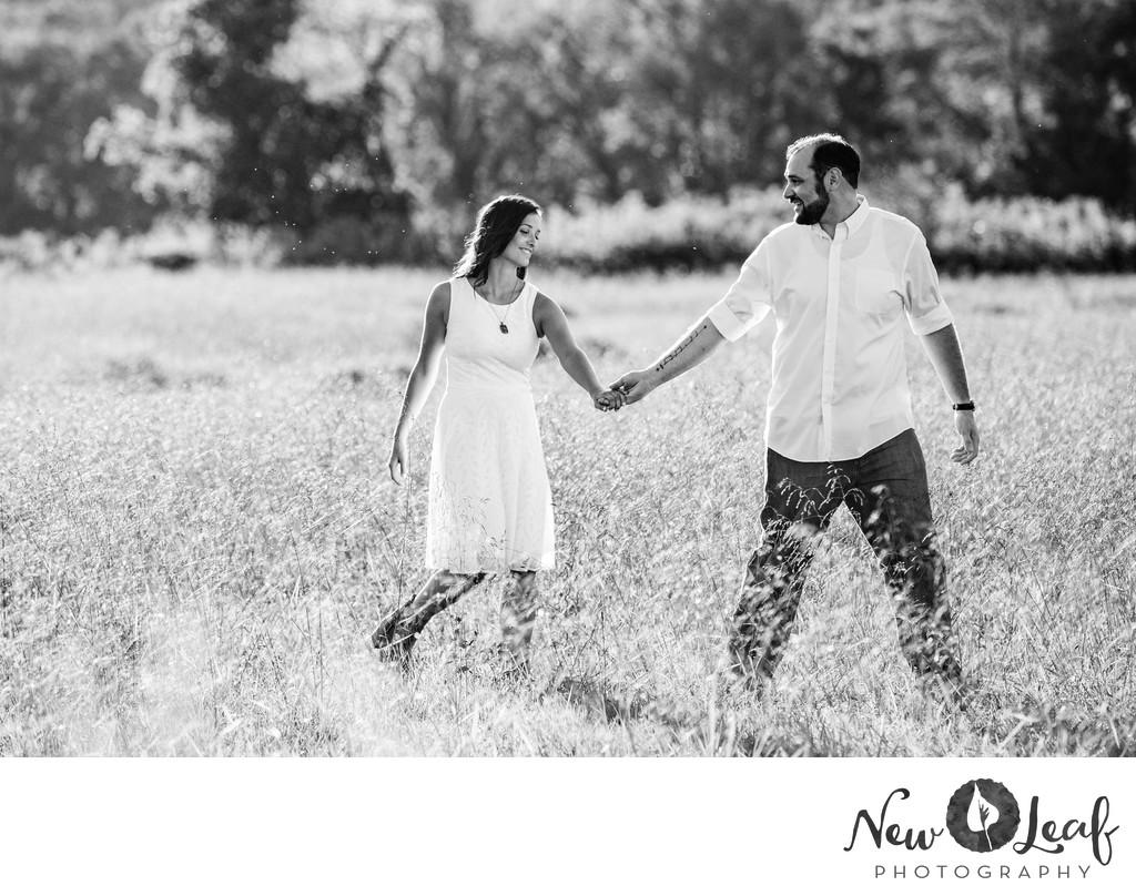 Engagement Session in Tyler State Park