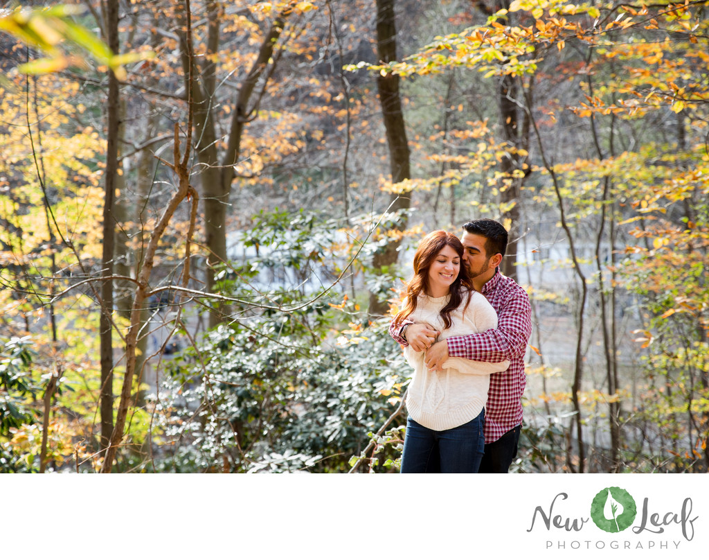 Valley Green Park Engagement Session