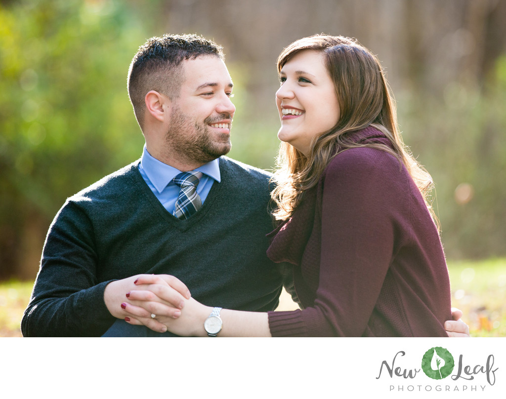 Engagement Session at Ridley Creek State Park