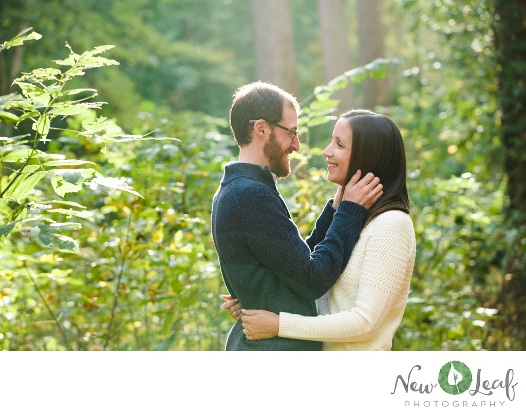 Wissahickon Park Engagement Session