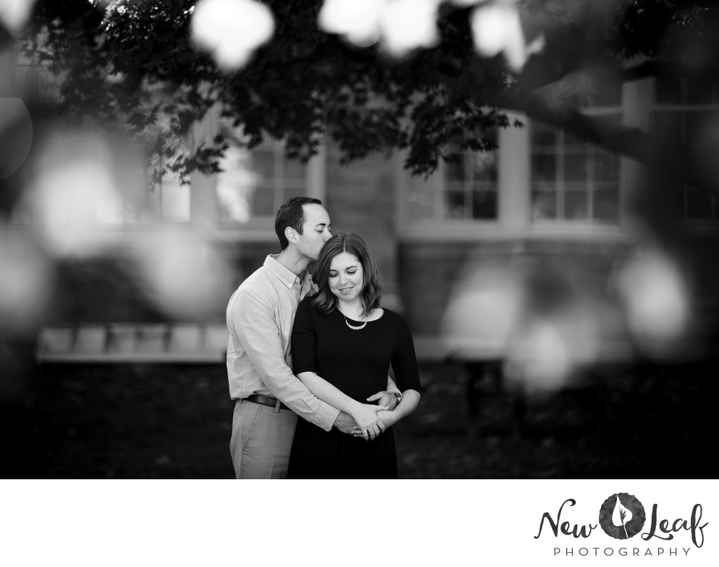 West Chester University Engagement Photographer