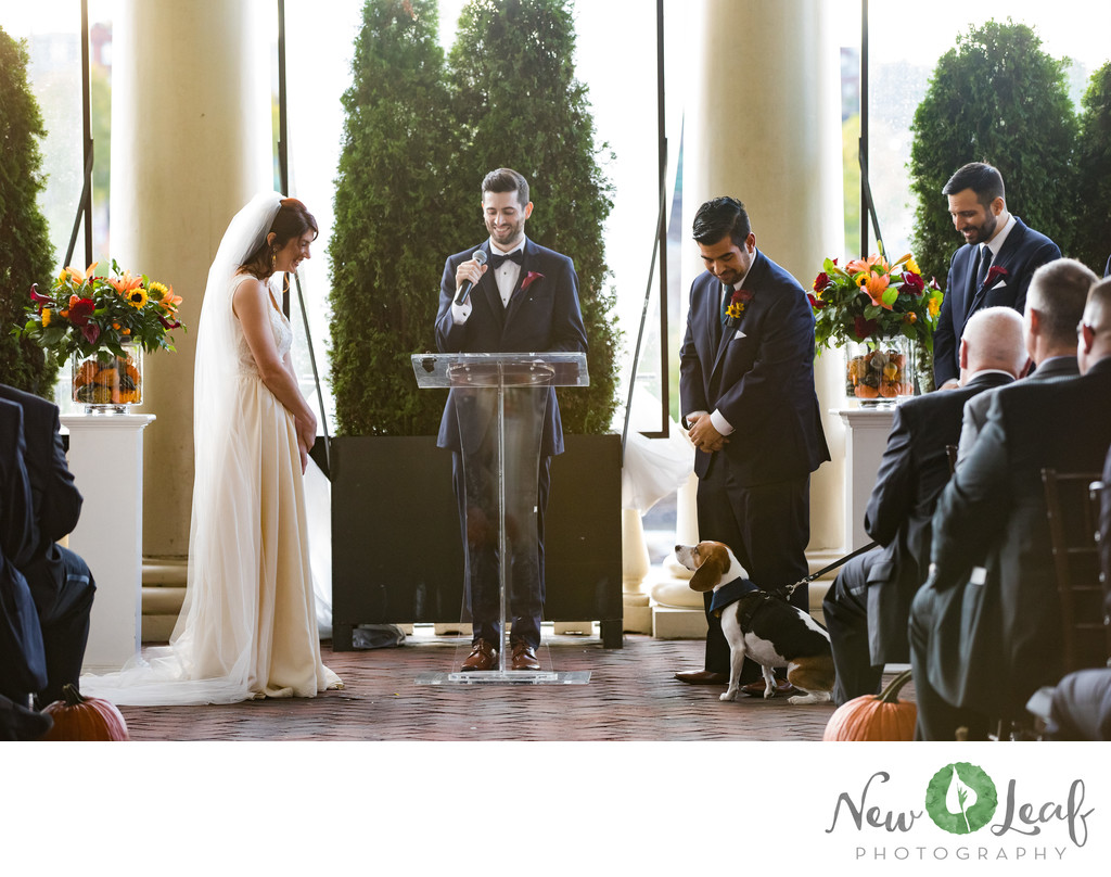 Outdoor Ceremony at Water Works