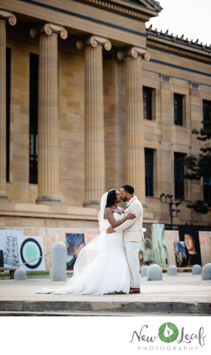Wedding Photos at Philadelphia Museum of Art