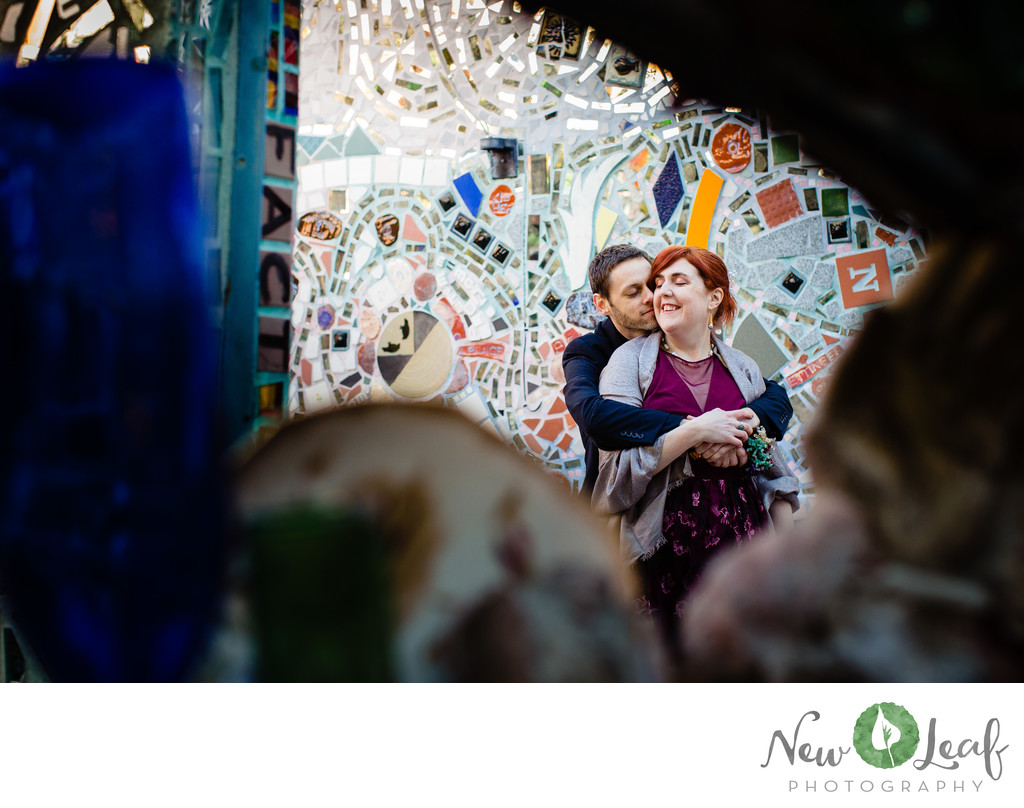 Wedding at Philadelphia Magic Gardens