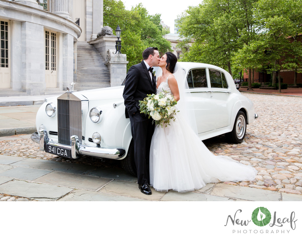 Wedding Photos at Merchant Exchange Building