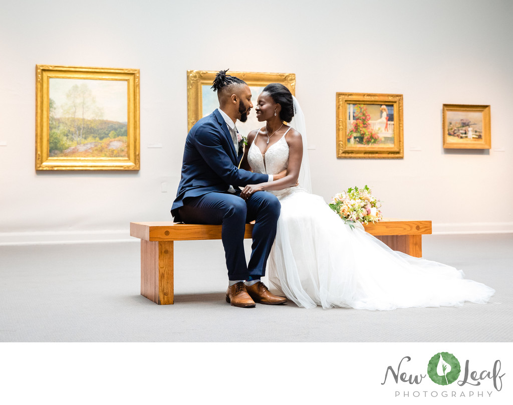 Wedding photography at the PAFA