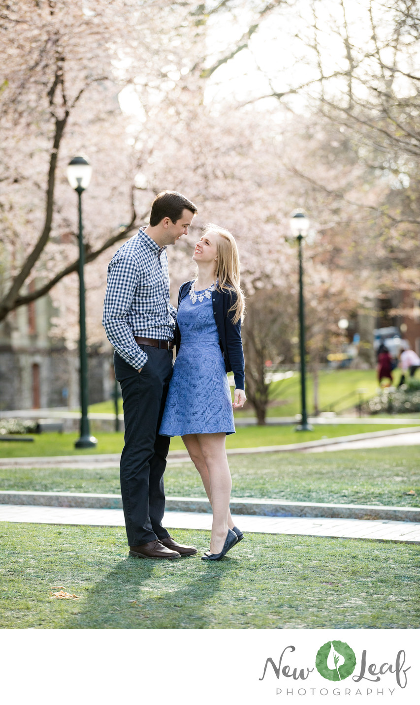 University of Penn Engagement Session