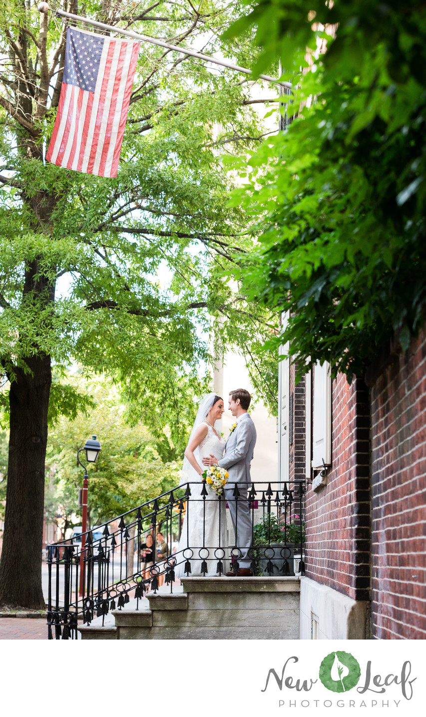 Wedding Ceremony at Hill-Physick House