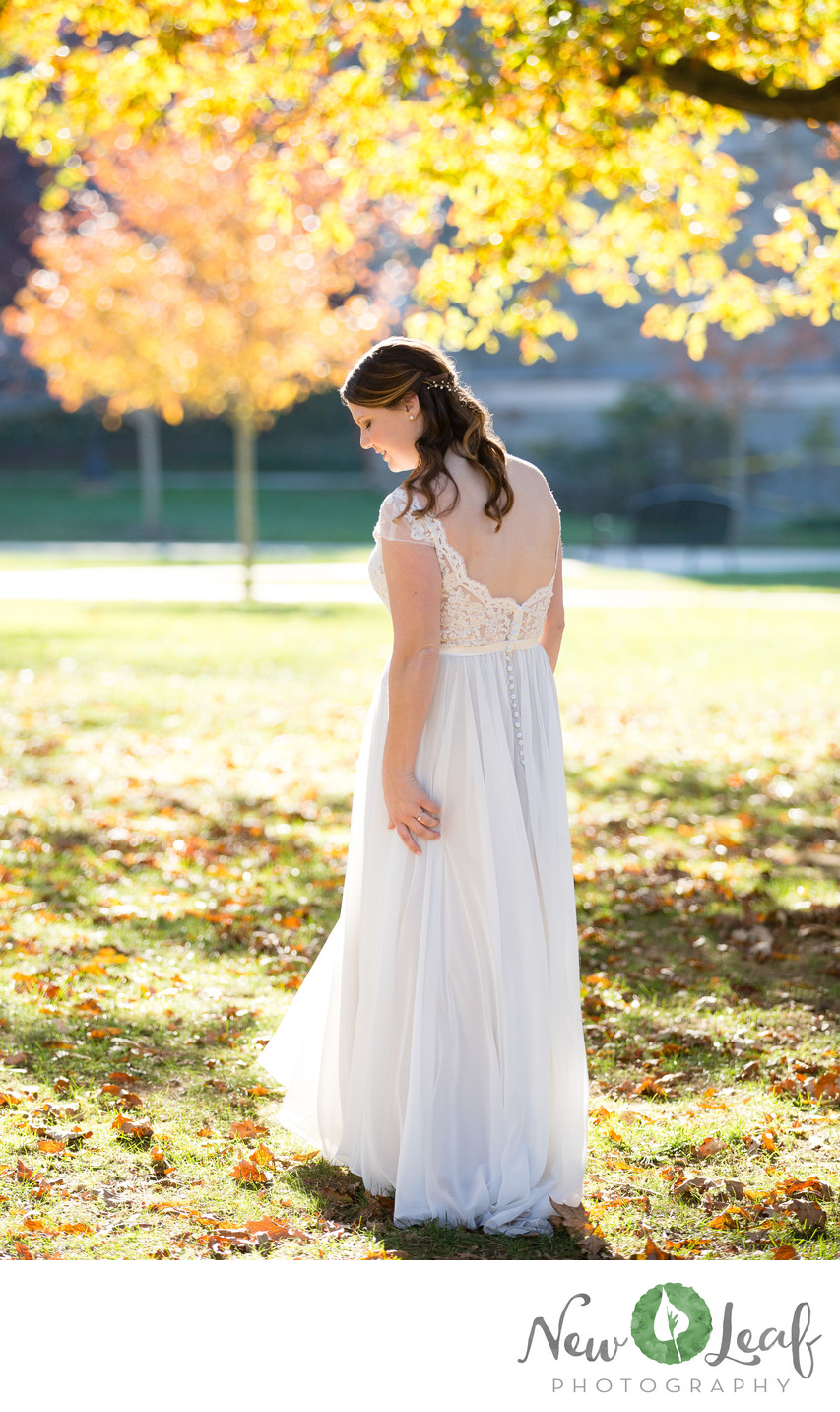 Bride at West Chester University