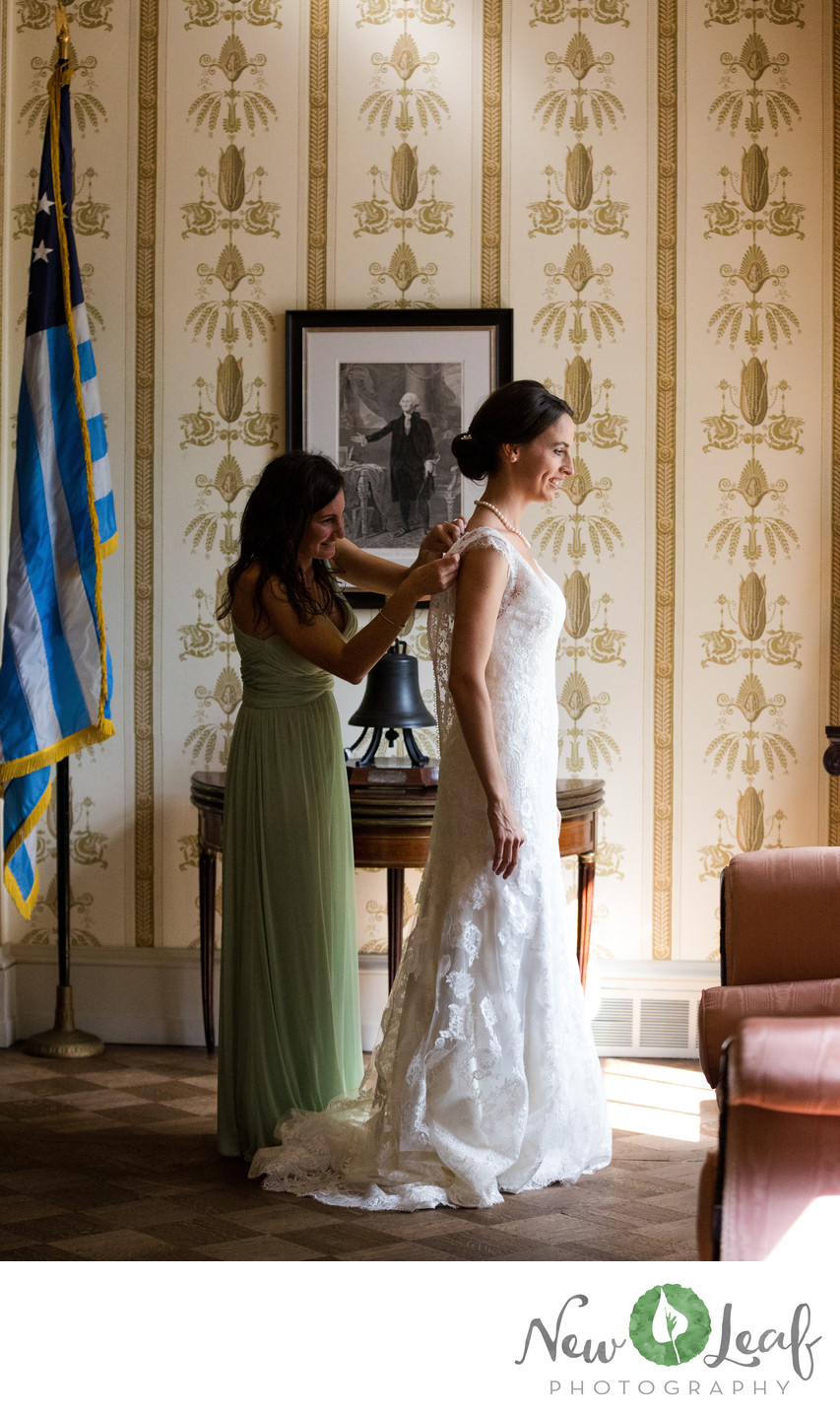 Wedding Photos at Hill-Physick House