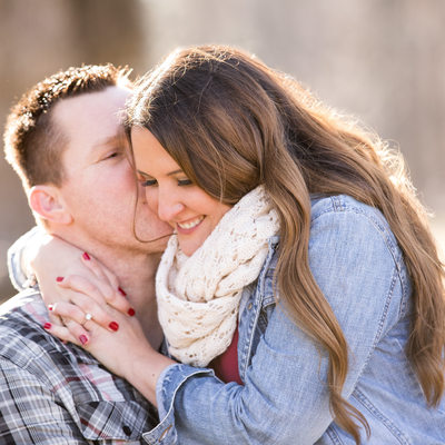 Engagement at Oakbourne Mansion in West Chester