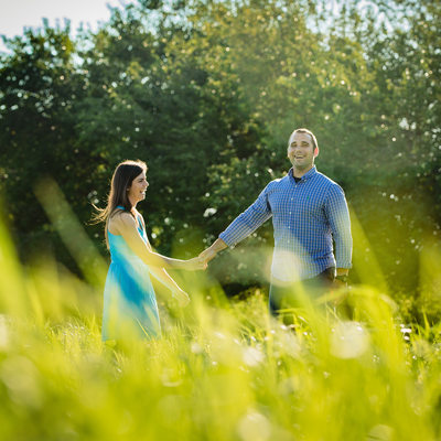 Engagement Session at Norristown Farm Park