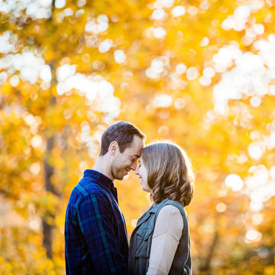 Engagement Photos at West Chester University