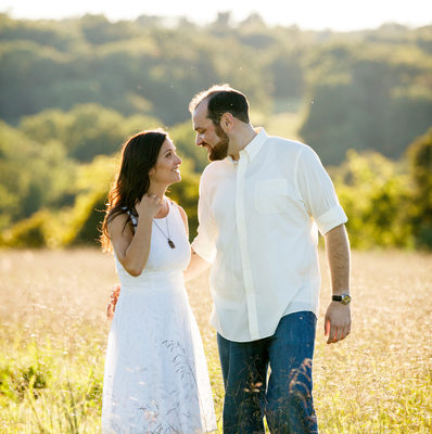 Tyler State Park Engagement Photographer