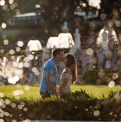Engagement Photos at Longwood Gardens in Kennett Square
