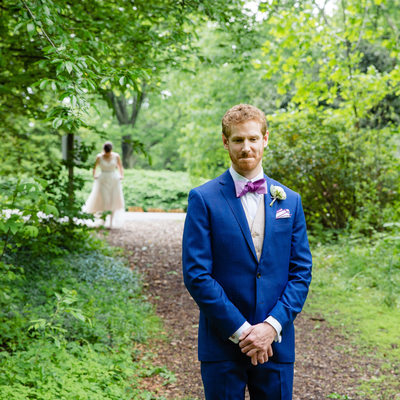 First Look Philadelphia Wedding Photographer