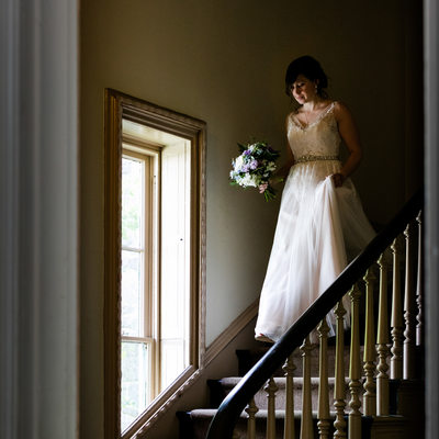 Wedding Photos at Awbury Arboretum