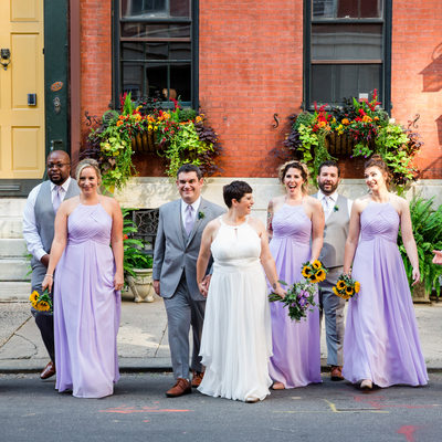 Wedding Photos at the Dwight D. Hotel in Philadelphia