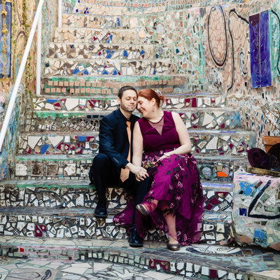 Philadelphia Magic Gardens Wedding