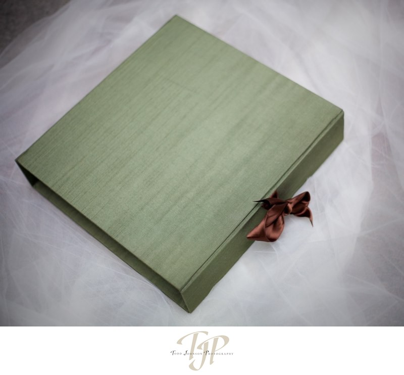 Classic Matted Album in green