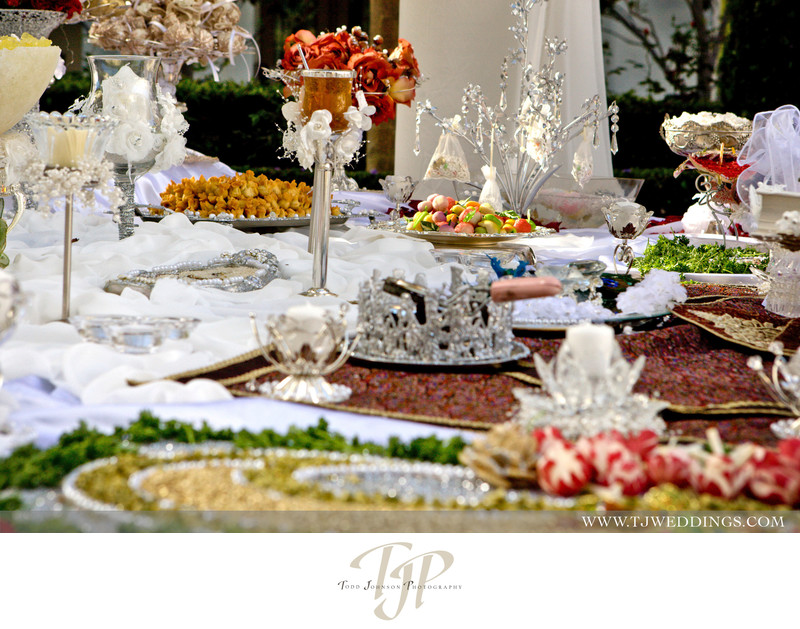 St. Regis Wedding photography, Persian Weddings | Sofreh Aghd. Orange County, Coordination by Stacy Porras Wedding Consulting www.porrasweddingconsulting.com/ St. Regis Monarch Beach Resort. Todd Johnson Photography