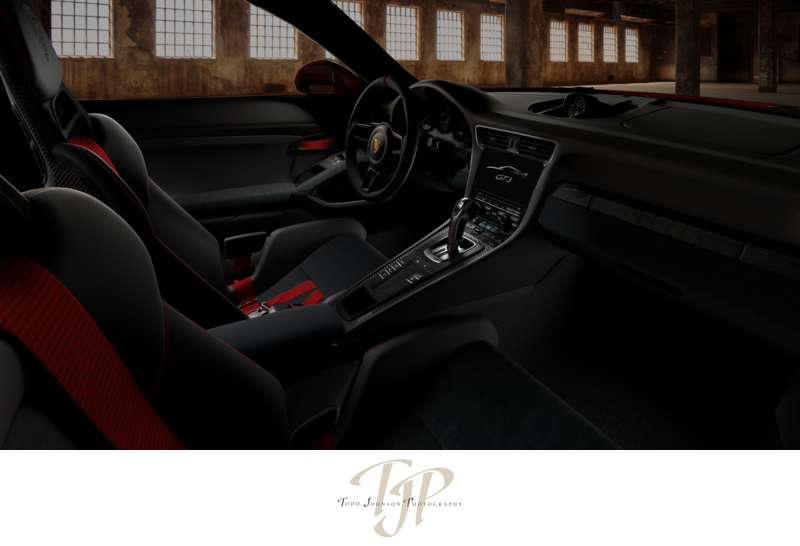 All CGI Porsche GT3 interior