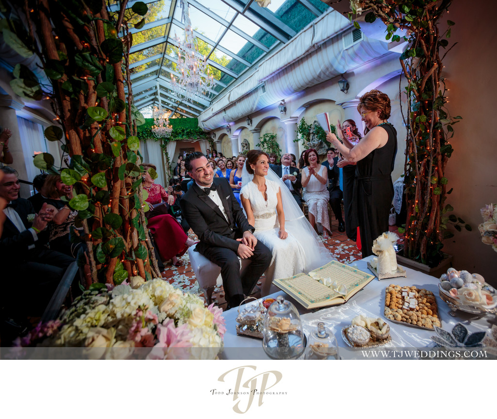 Persian Weddings Sofreh Aghd Beverly Hills Wedding Photography Venue Il Cielo Italian