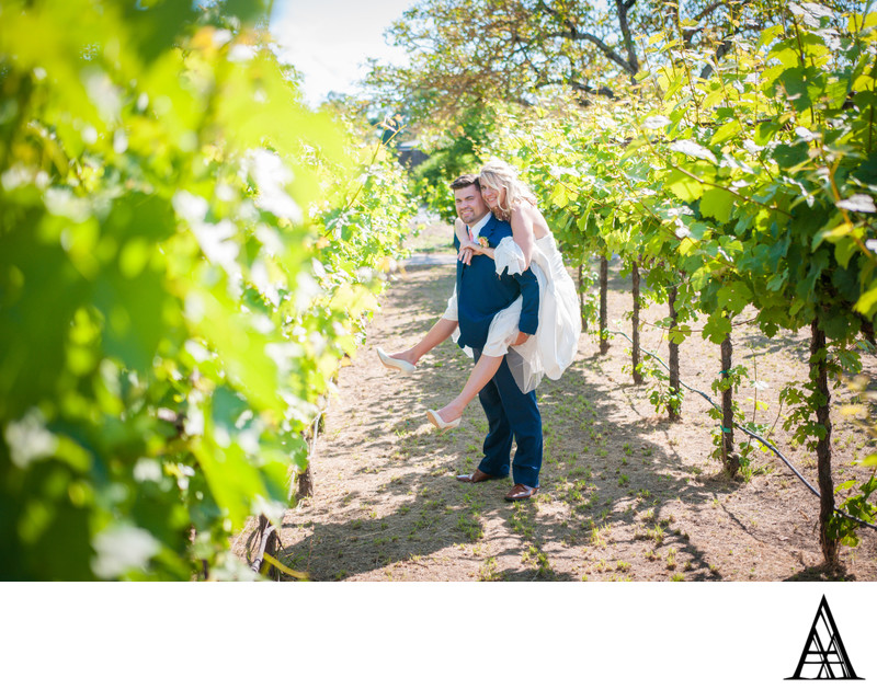 Vineyard Wine Country Wedding Photographer from Sac