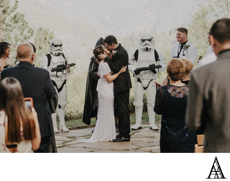 Star Wars Themed Wedding Photography Sacramento