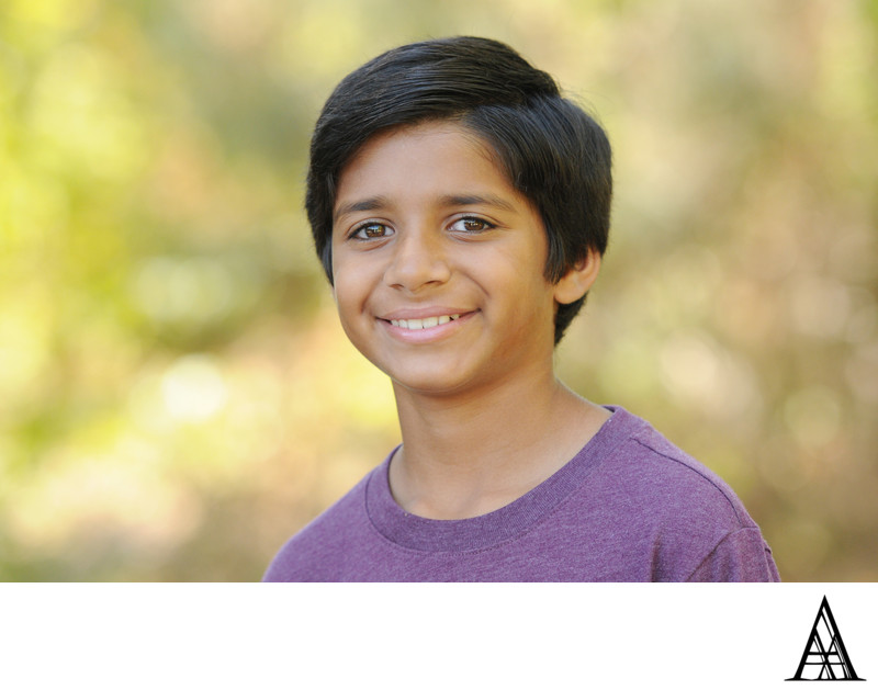 Youth Headshot Photographer Sacramento Professional