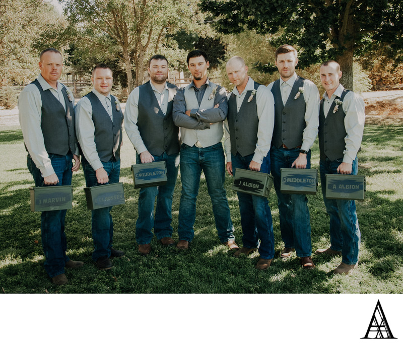 Wedding Photographers Country Wedding Sacramento Groom