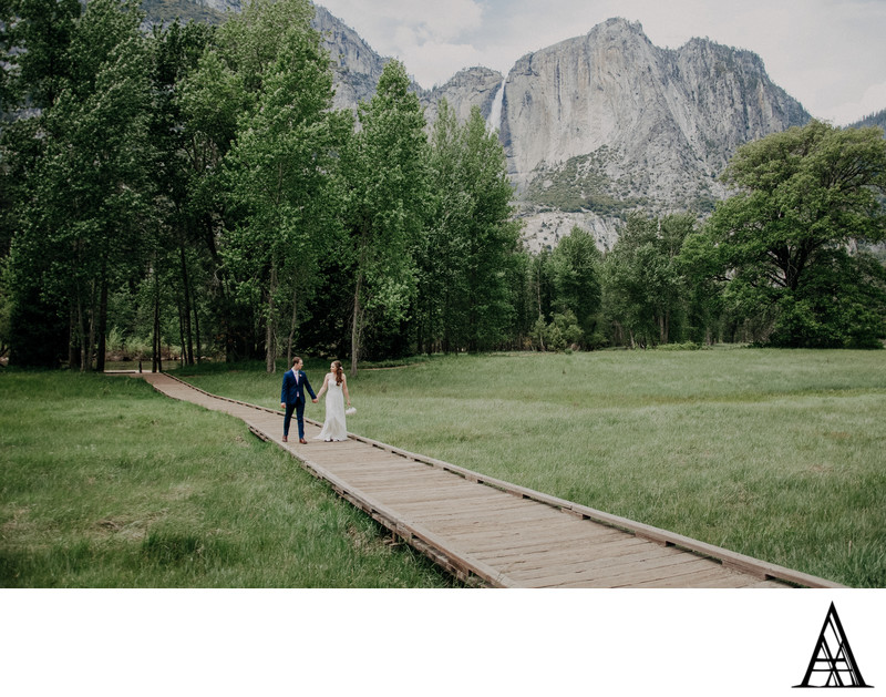 Scenic Wedding Photographer Sacramento Yosemite Valley