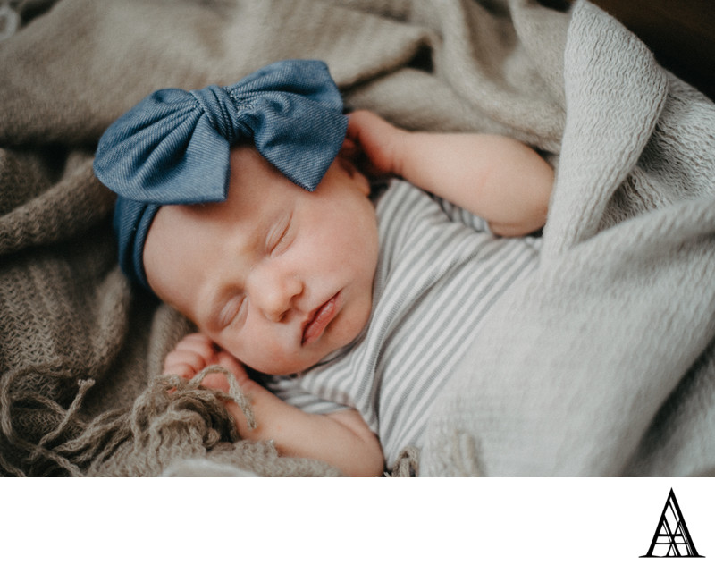 Rocklin Studio Newborn Photographer