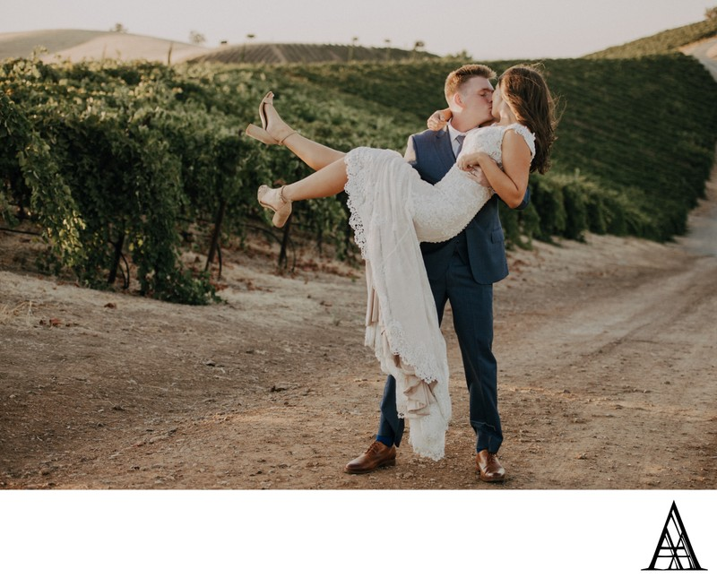 Vineyard Wedding Photographer Sacramento Portraits