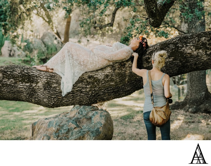 Rocklin Maternity Photography Behind the Scenes